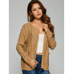 Cable Knit Cardigan With Pockets deal