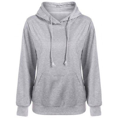Slim Fit Front Pocket Hoodie