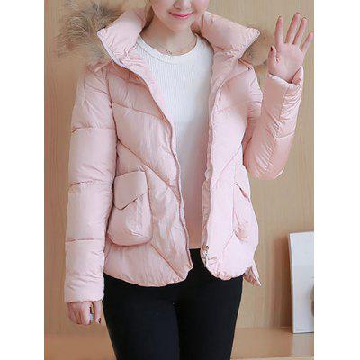 Short Hooded Puffer Jacket