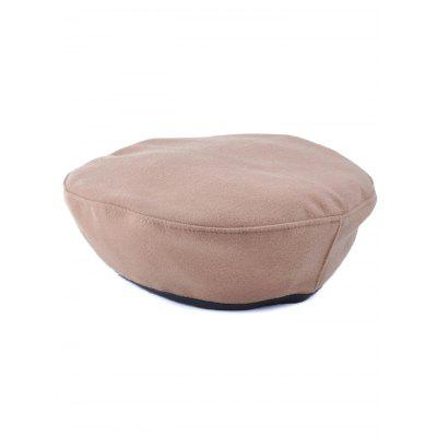 Adjustable Flat Top Beret Cap