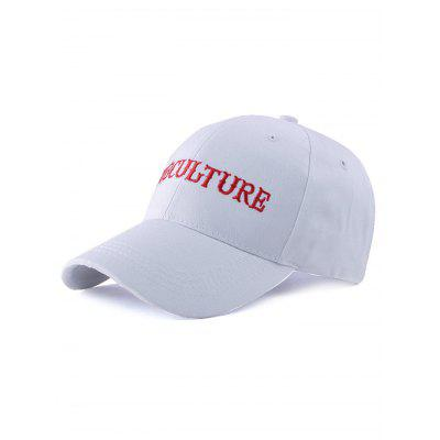 Letters Embroidery Casual Adjustable Baseball Cap