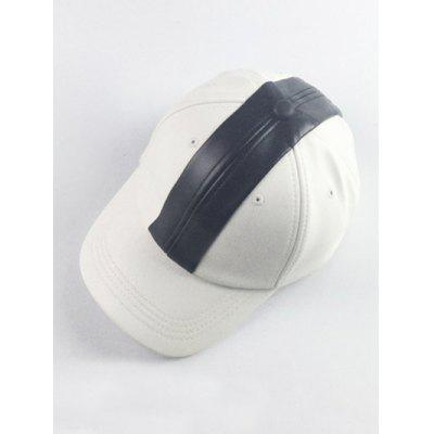 Hip Hop Style Color Splicing Baseball Hat