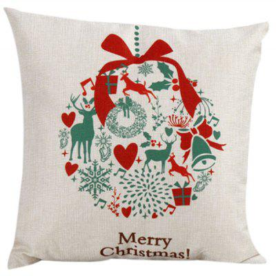 Merry Christma Household Pillow Case