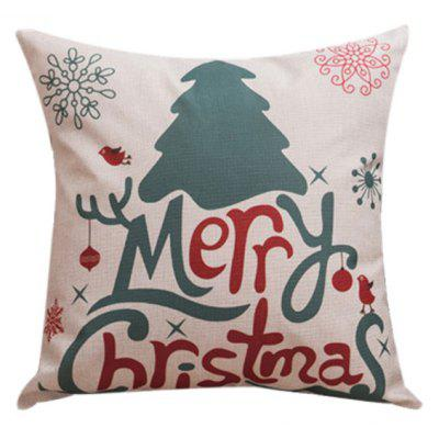 Merry Christma Household Sofa Bed Pillow Case $3 45 line