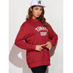 cheap Tomato Soup Oversized Sweatshirt