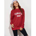 Tomato Soup Oversized Sweatshirt deal