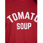 best Tomato Soup Oversized Sweatshirt