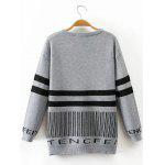 cheap Long Sleeve Stripe Sweater