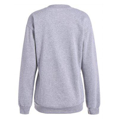 Casual Letter Print Fleece SweatshirtSweatshirts &amp; Hoodies<br>Casual Letter Print Fleece Sweatshirt<br><br>Material: Polyester<br>Package Contents: 1 x Sweatshirt<br>Pattern Style: Letter<br>Season: Fall, Spring<br>Shirt Length: Regular<br>Sleeve Length: Full<br>Style: Fashion<br>Weight: 0.296kg