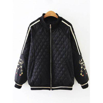 Bomber Phoenix Embroidery Jacket