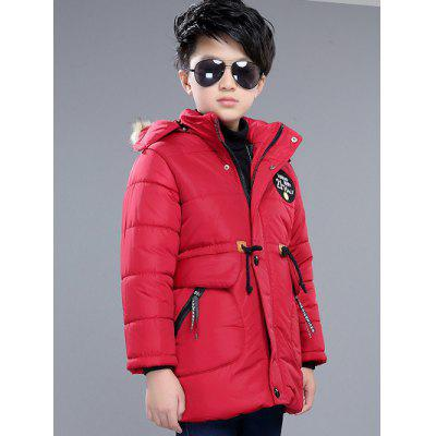 Drawsting Padded Coat