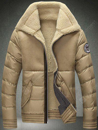 Couverture collare Zip-up affollamento Down Jacket