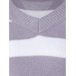 Two Tone Pullover Sweater for sale