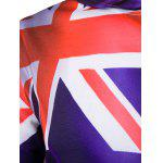 Hooded 3D Flag of Australia Print Purple Hoodie for sale