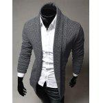 Turndown Collar Slimming Knitting Cardigan deal