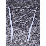 Hooded Long Sleeve Drawstring Sweater for sale