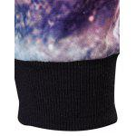 3D Starry Sky Printed Long Sleeve Hoodie for sale