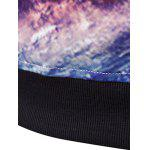 3D Starry Sky Printed Long Sleeve Hoodie photo