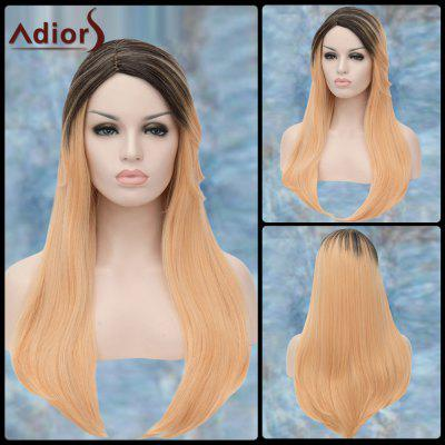 Buy COLORMIX Adiors Long Colormix Straight Side Parting Synthetic Wig for $17.67 in GearBest store