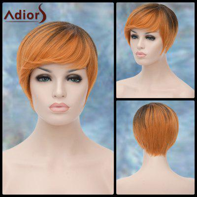 Buy COLORMIX Adiors Short Full Bang Straight Lolita Synthetic Wig for $16.41 in GearBest store