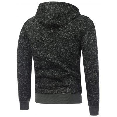 Letter Print Zipped Fleece HoodieMens Hoodies &amp; Sweatshirts<br>Letter Print Zipped Fleece Hoodie<br><br>Material: Cotton Blends, Polyester<br>Package Contents: 1 x Hoodie<br>Shirt Length: Regular<br>Sleeve Length: Full<br>Style: Casual<br>Weight: 0.5110kg