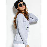 Crew Neck Graphic Pullover Sweatshirt photo