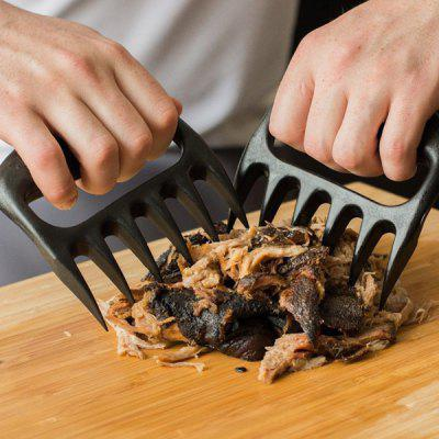 2PCS Pork Meat Handler Pull Shred Bear Claw Barbecue Forks
