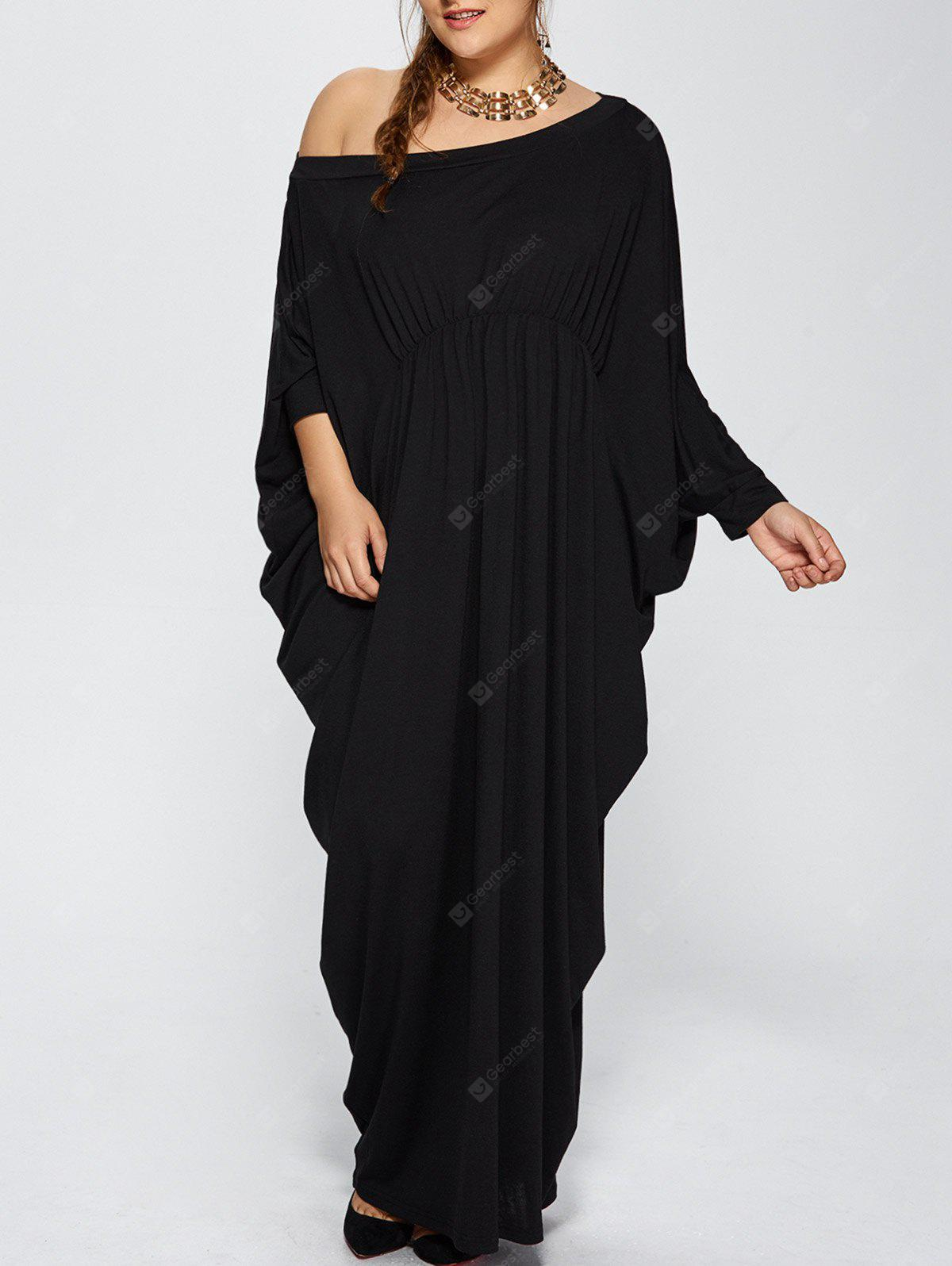 Plus Size One Schulter Prom Maxi Abendkleid