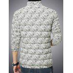 Zip Up Paisley Printed Quilted Jacket deal