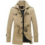 Couverture collare monopetto spallina design Coat - CACHI
