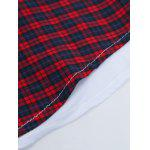 Tartan Splicing Long Sleeve Shirt photo