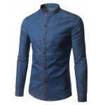Buy DEEP BLUE, Apparel, Men's Clothing, Men's Shirts for $20.89 in GearBest store