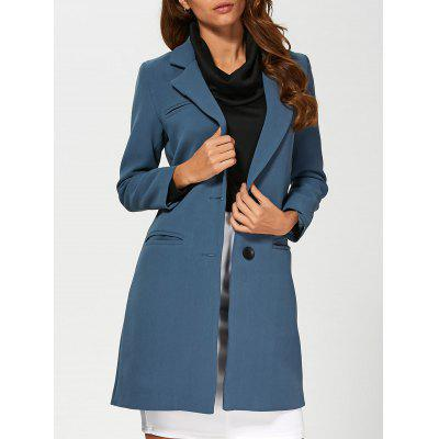 Single Breasted Lapel Blazer