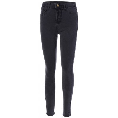 High Waist Narrow Leg Jeans