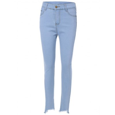 High Waist Light Wash Jeans