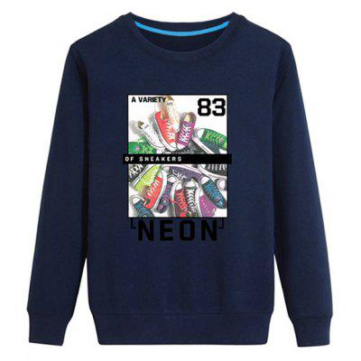 Long Sleeve Graphic Printed Sweatshirt