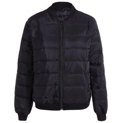 Warm Zipper Up Down Jacket