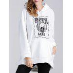 cheap Beer Applique Thicken Maternity Hoodie