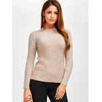 cheap Fit Ribbed Pullover Sweater