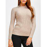 Fit Ribbed Pullover Sweater