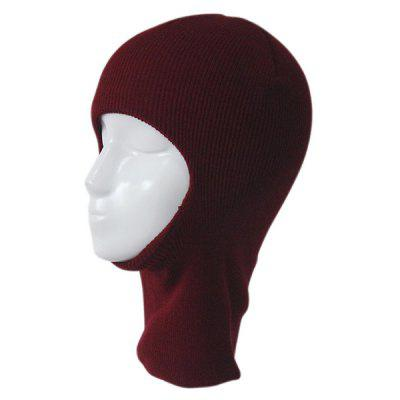 Outdoor Knit Face Mask Neck Warmer Ski Cap