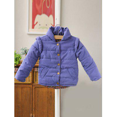 Stand Collar Padded Jacket