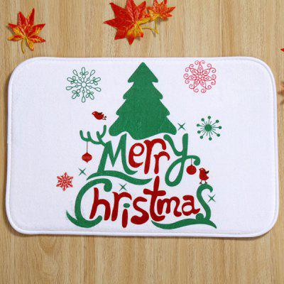 Christmas Absorbent Anti-slip Doormat Carpet