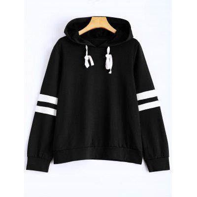 Hooded Striped Sweatshirt