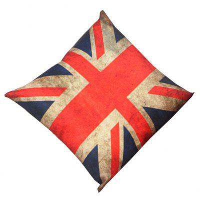 England Flag Design Sofa Cushion Linen Pillow Case
