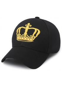 Crown Embroidery Baseball Cap