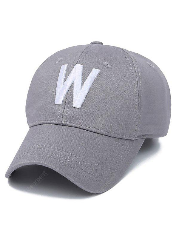 6b28b902a26 W Letter Embroidery Baseball Cap -  3.18 Free Shipping