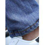best Zip Fly Distressed Light Denim Jeans