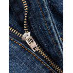 Zip Fly Distressed Light Denim Jeans deal