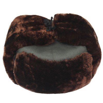 Outdoor Winter Faux Fur Ear Neck Warmer Hat
